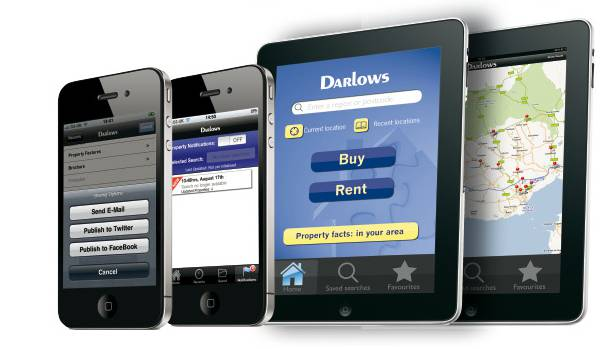 Darlows estate agent app