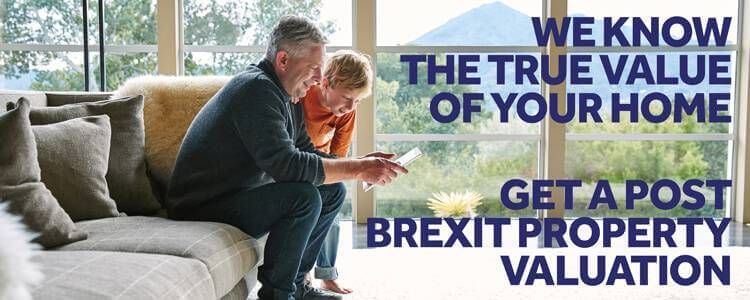 Get an online free, post Brexit valuation today